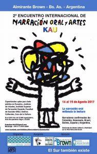 2º Encuentro Internacional de Narración oral y Artes KAU